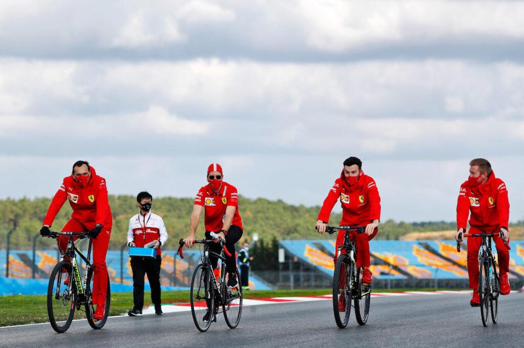 F1 | Ferrari, Leclerc e Vettel chiudono le FP1 in Turchia in terza e quinta posizione
