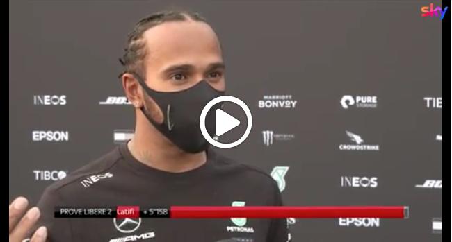 """F1   Hamilton: """"Le libere di oggi? Un pò uno schifo"""" [VIDEO]"""