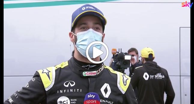 """F1   Ricciardo: """"Lewis che beve dalla mia scarpa? E' stato un 2020 strano"""" [VIDEO]"""