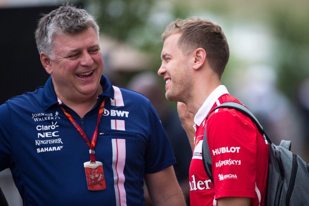 """F1   RP, Szafnauer sul test di Alonso: """"40 anni, non è giovane, allora noi giriamo con Vettel…"""""""
