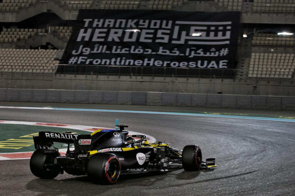 F1 | GP Abu Dhabi, libere a Yas Marina dedicate alla raccolta dati per il 2021