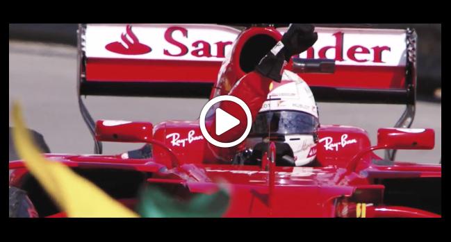 """F1   Vettel e la Ferrari: il racconto della storia di """"Seb"""" con la Rossa [VIDEO]"""