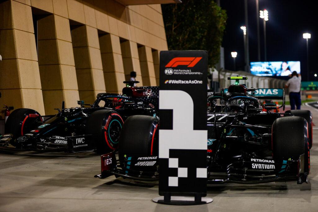 Formula 1   GP Sakhir, la griglia di partenza