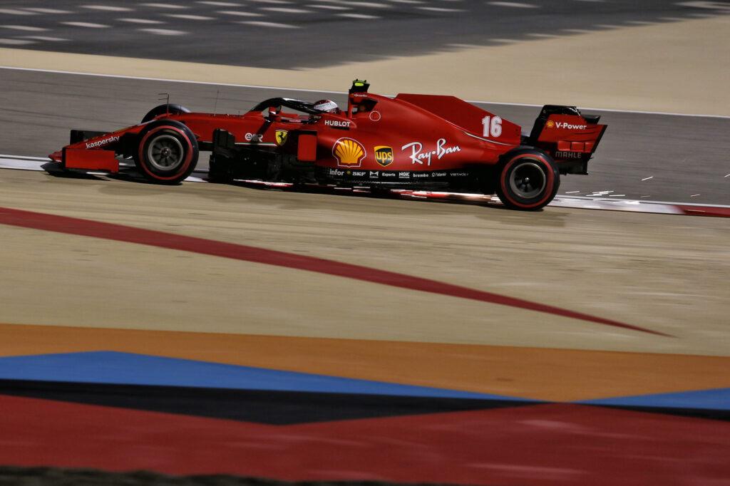 "F1   Ferrari, sull'Outer Circuit di Sakhir ""brilla"" la stella di Leclerc"