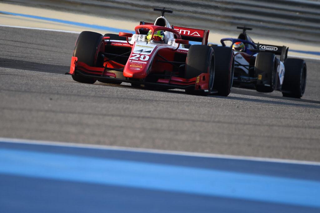 "F2 | GP Sakhir, distacco invariato dopo Gara 1: Schumacher ""vede"" il titolo"