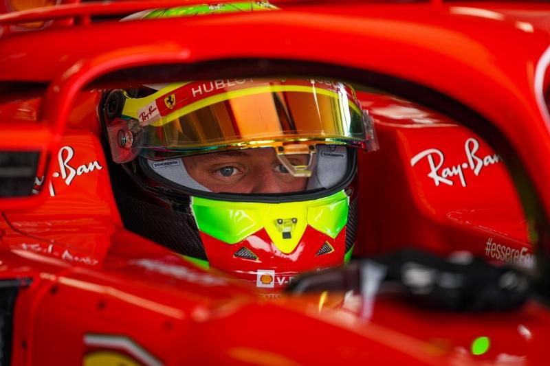 Formula 1 | Mick Schumacher in pista a Fiorano con la SF71H