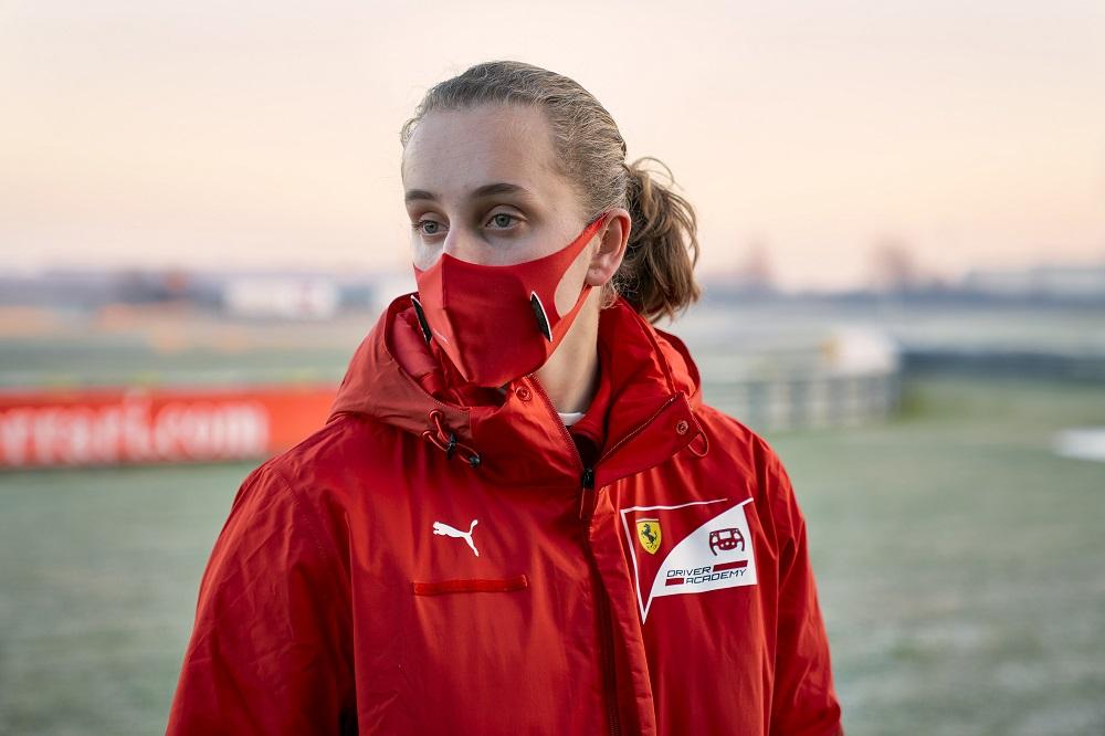 La Ferrari Driver Academy firma a su primera integrante mujer