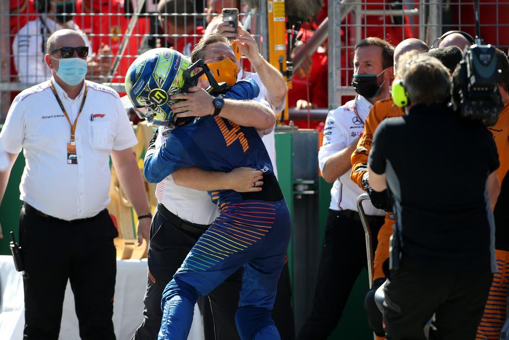 "F1   Brown: ""Norris non è più un rookie"""