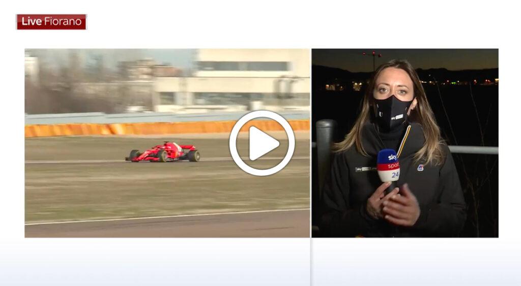 F1 | Leclerc in pista a Fiorano: l'analisi di Mara Sangiorgio a Sky Sport 24 [VIDEO]