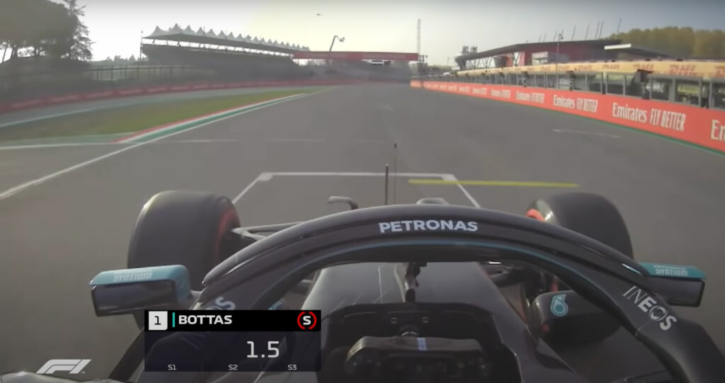 F1   Imola torna in calendario, il giro della pole position di Bottas [VIDEO]