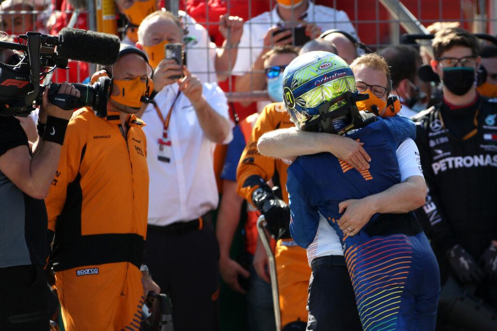 """F1   Norris su Seidl: """"Riesce a coinvolgere tutti quanti all'interno della squadra"""""""