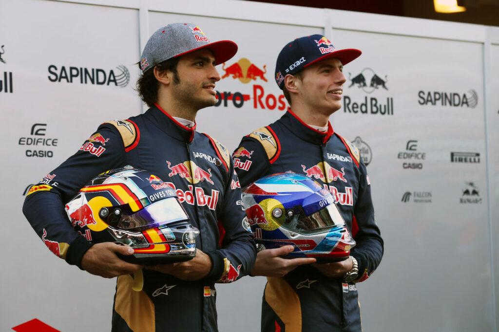 """F1   Sainz ricorda il 2015: """"Io e Verstappen abbiamo creato una gran competizione in Toro Rosso"""""""