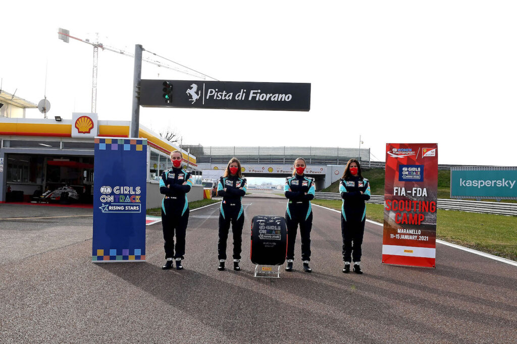 "Girls on Track: terminato il ""final camp"" a Maranello"