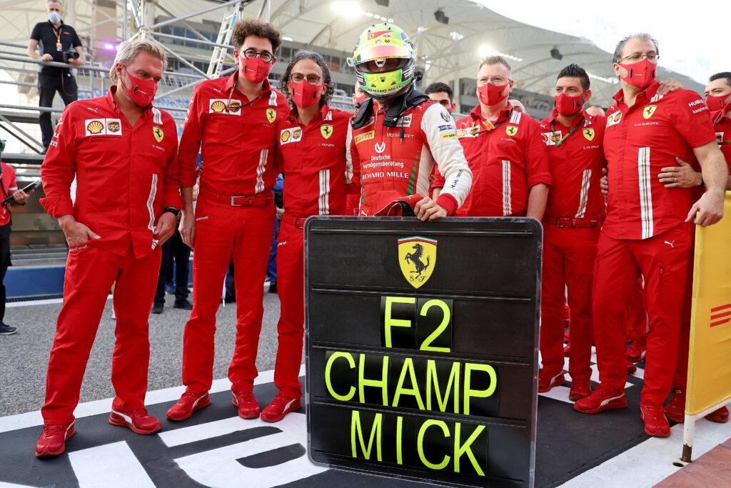 F1 | La Ferrari ha grandi aspettative su Mick Schumacher