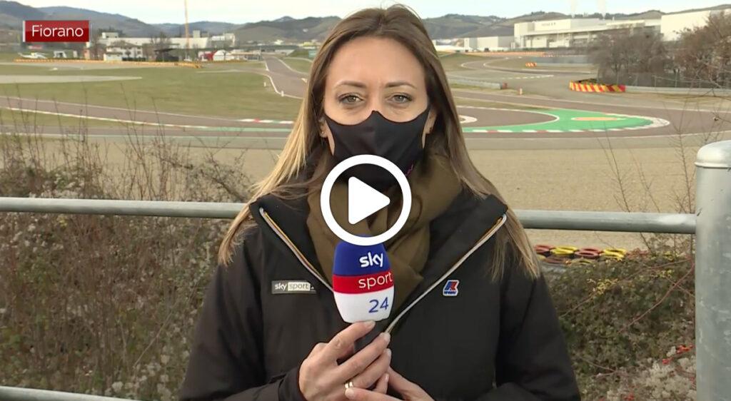 F1 | Sainz, primi giri a Fiorano con la Ferrari: il punto di Mara Sangiorgio [VIDEO]