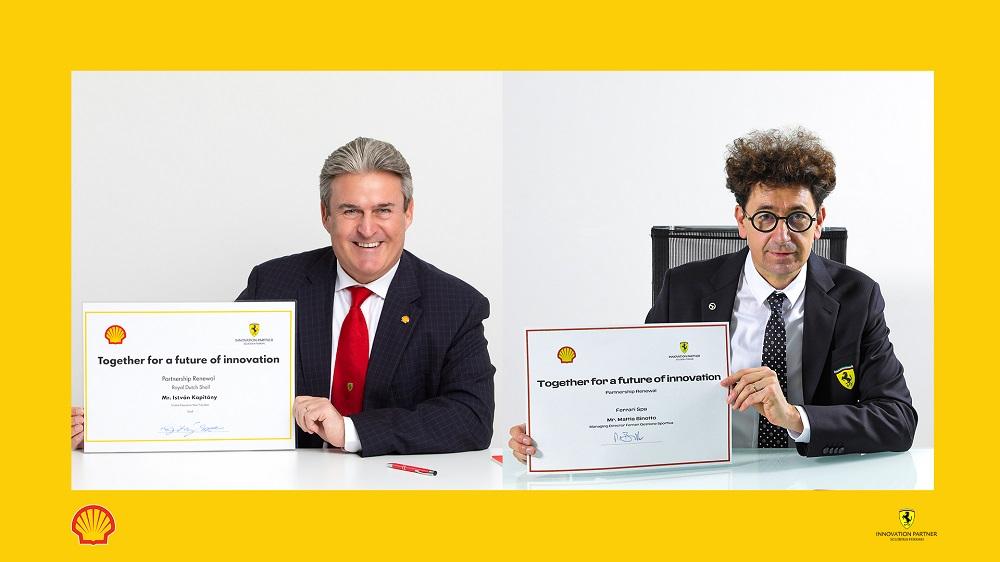 F1 | Prosegue la partnership tra Ferrari e Shell