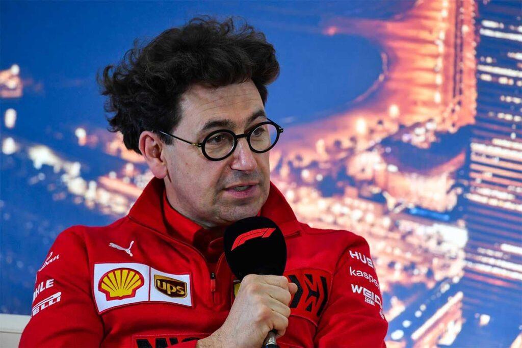 """F1   Ferrari, Binotto: """"Secondo le simulazioni abbiamo recuperato parecchia velocità sui rettilinei"""""""