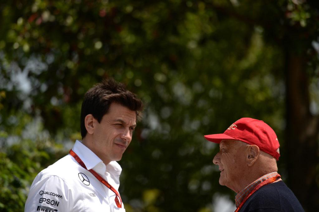 """F1   Mercedes, Wolff: """"Lauda è accanto a me quando ho bisogno di un consiglio"""""""