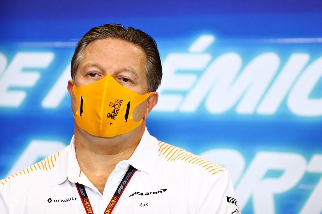 F1 | Zak Brown spinge per l'introduzione del salary cap
