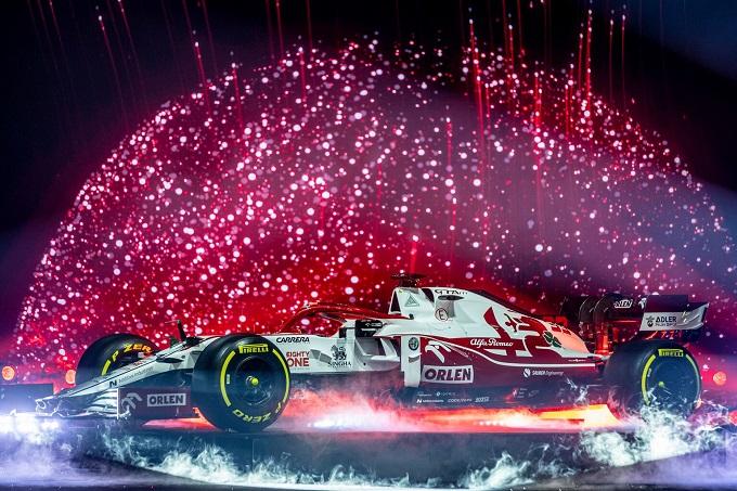 F1   Alfa Romeo: le novità tecniche viste sulla C41 al lancio
