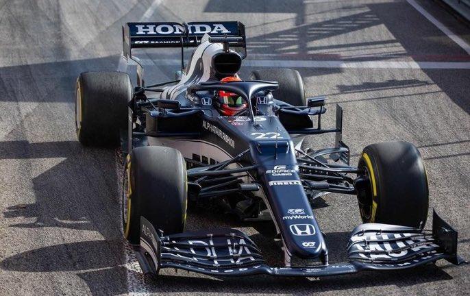 Formula 1 | AlphaTauri, AT02 in pista ad Imola con Gasly