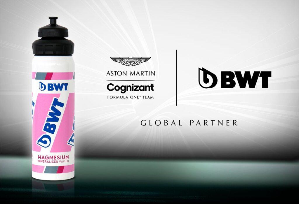 F1 | Aston Martin, rinnovato l'accordo di sponsorizzazione con BWT