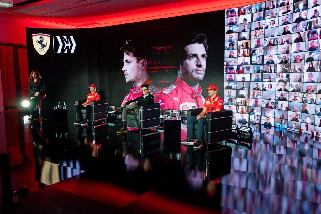 F1 | Ferrari presenta la squadra per la stagione 2021