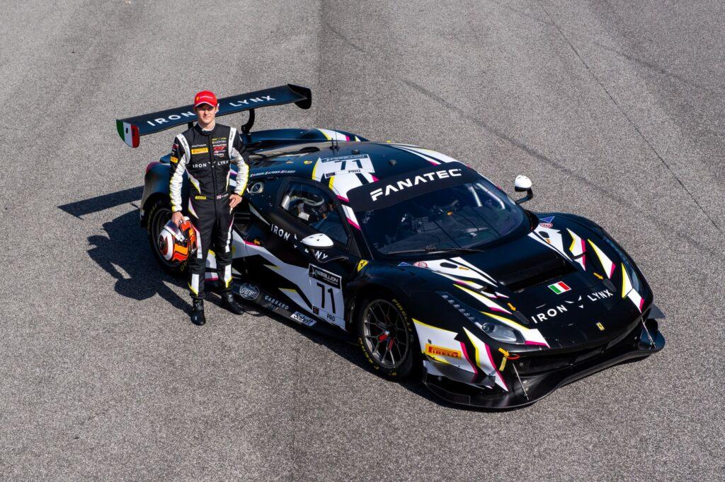 FDA   Callum Ilott debutta nel GT World Challenge con Iron Lynx