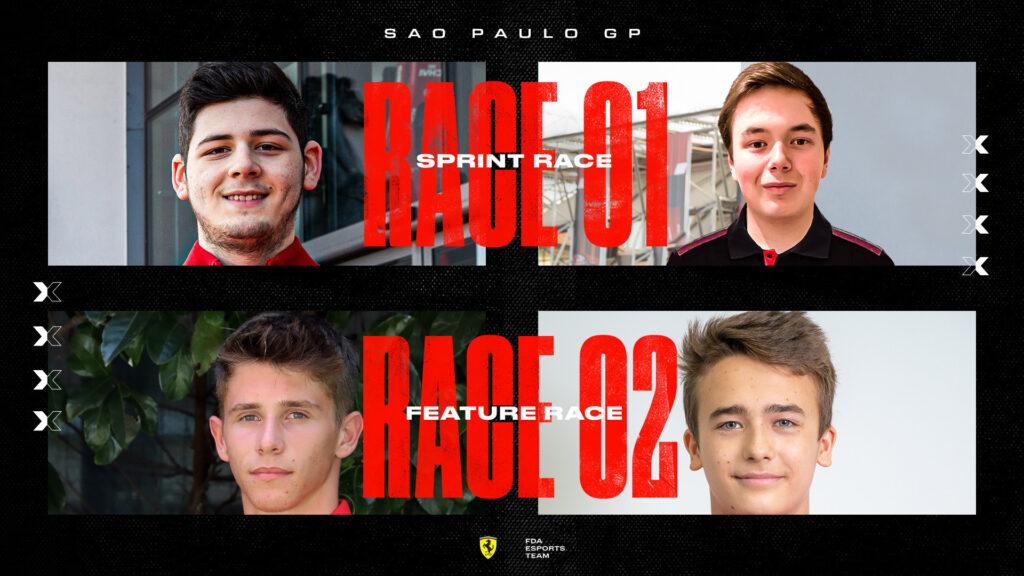 F1 | Virtual GP, FDA sceglie Arthur Leclerc e Dino Beganovic per la gara ad Interlagos