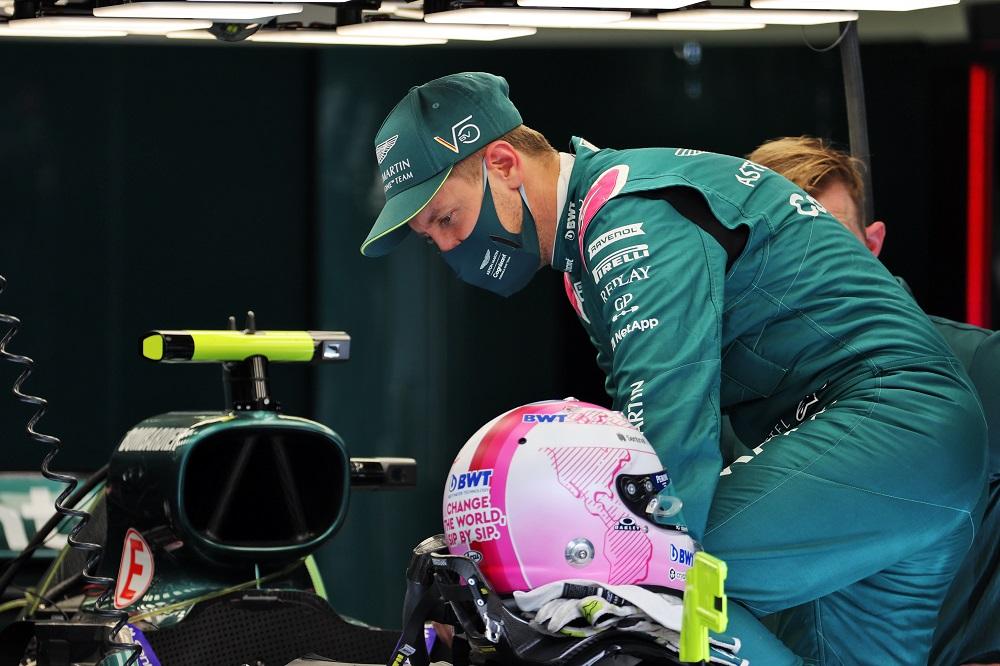 F1   Aston Martin, Vettel ha chiamato Honey Ryder la sua AMR21