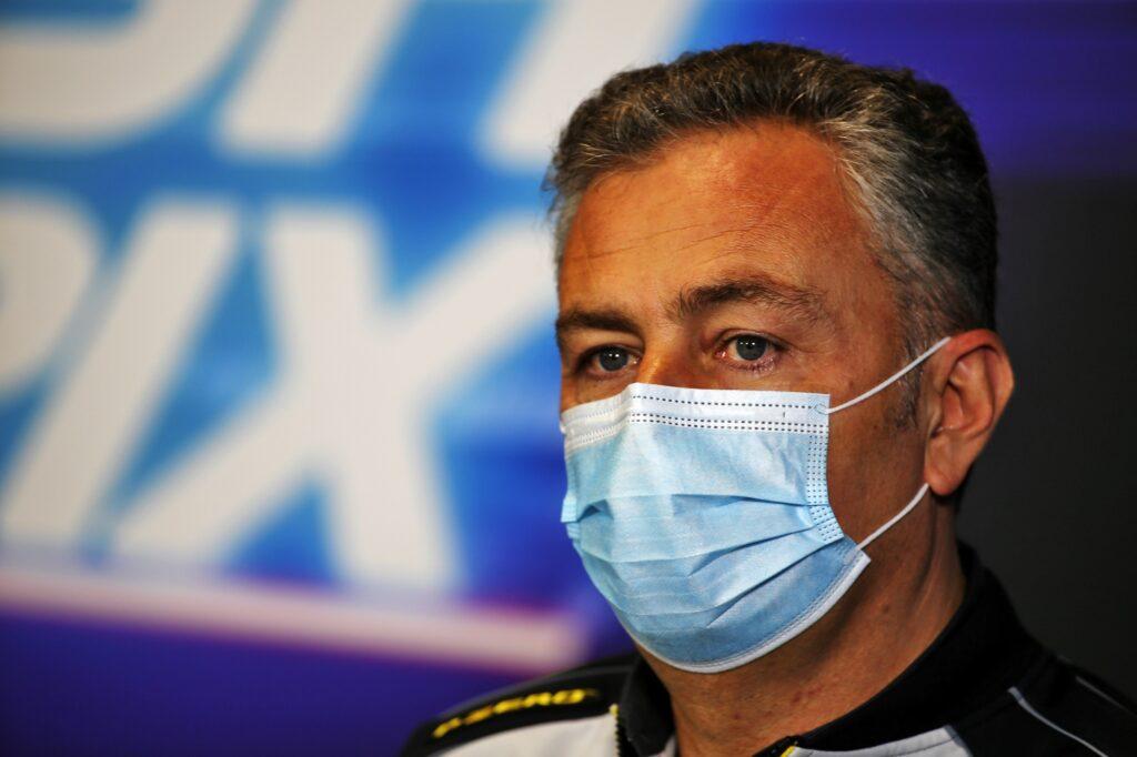 """F1   Mario Isola: """"Differenze di prestazioni minime rispetto al 2020"""""""