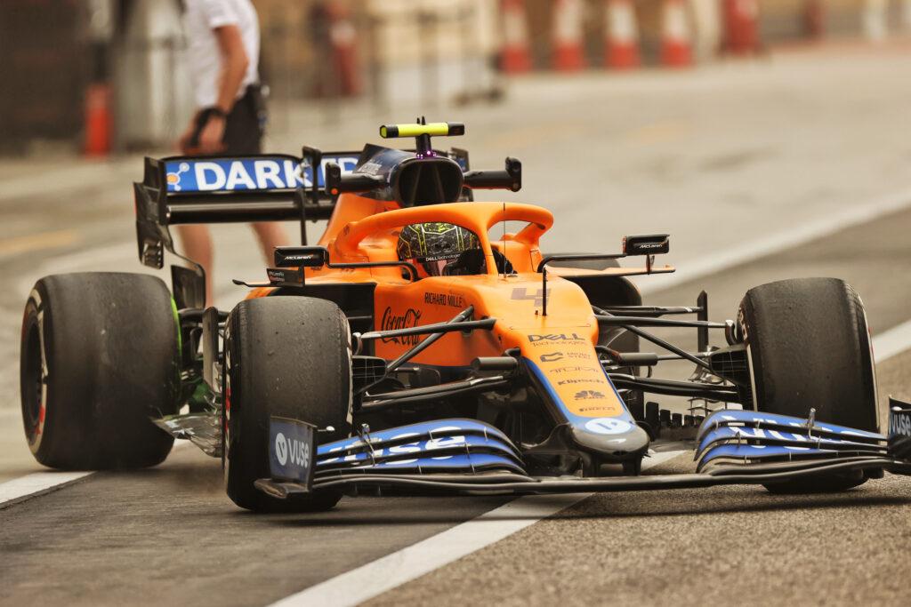 F1 Test   McLaren, Lando Norris segna il secondo miglior tempo di giornata