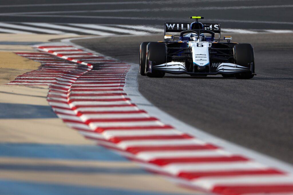 Test F1 | Williams, 132 giri per Latifi