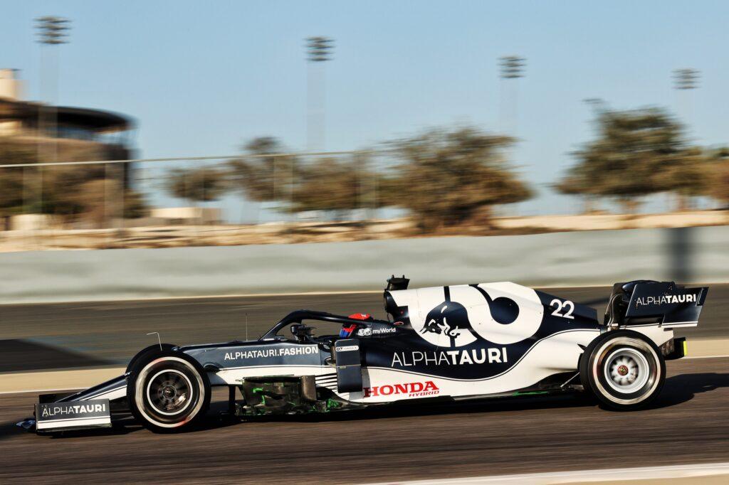 F1 Test | AlphaTauri, Tsunoda chiude al secondo posto