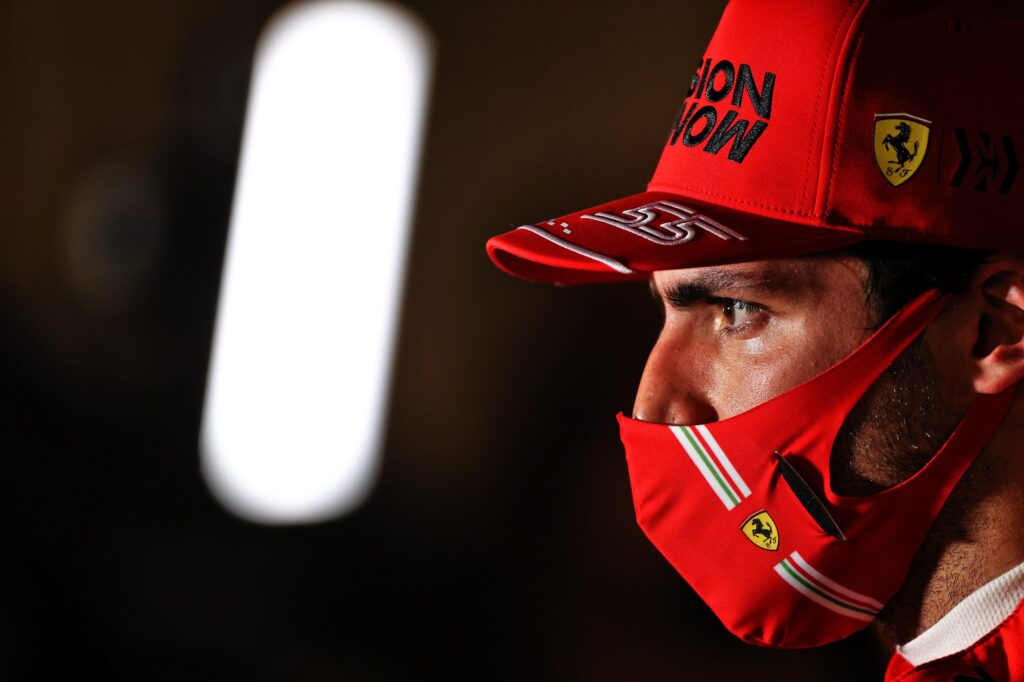 """F1   Sainz ottavo in Bahrain: """"Ferrari vuole di più, e anche io!"""""""