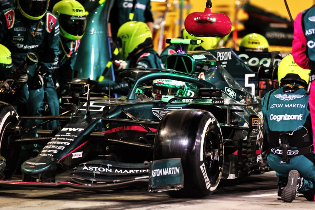 """F1   Aston Martin, Vettel: """"Weekend piuttosto difficile"""""""