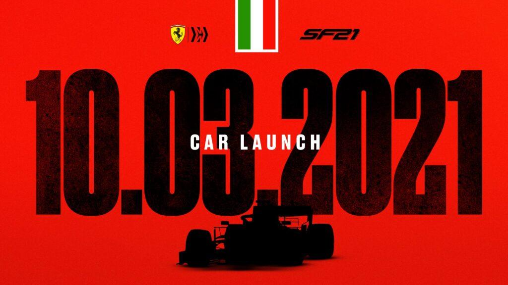 F1 | Settimana ricca di presentazioni, il 10 marzo tocca alla Ferrari