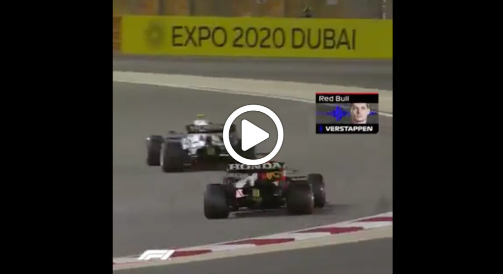 Formula 1 | GP Bahrain, il team radio di Verstappen dopo la pole [VIDEO]