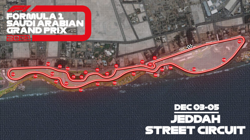 GP Arabia Saudita - Jeddah Street Circuit