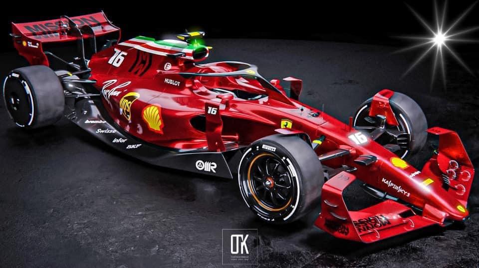 F1 | Ferrari: OK immagina il design della vettura 2022 [RENDER]