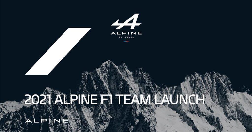 F1 | Presentazione Alpine F1 Team in diretta [FOTO e VIDEO]