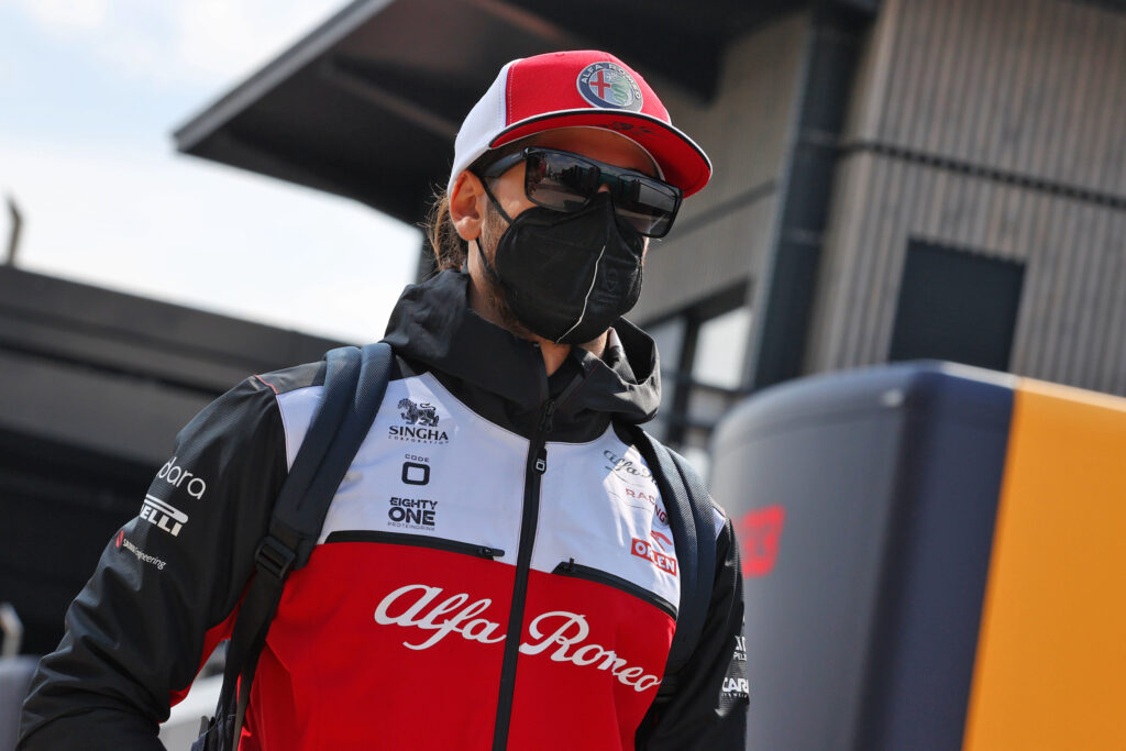 F1 | Alfa Romeo, gara sfortunata per Antonio Giovinazzi