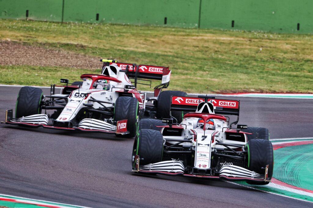 F1 | Imola, gara sfortunata per l'Alfa Romeo