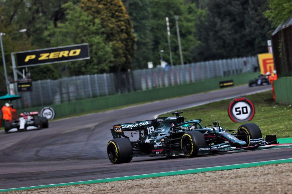 F1 | Entrambe le Aston Martin con problemi ai freni a Imola