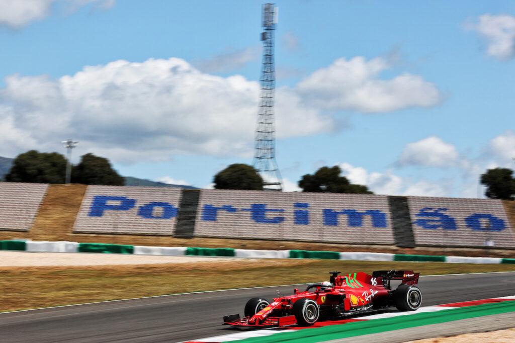 F1 | Ferrari, completato senza intoppi il programma del venerdì a Portimao