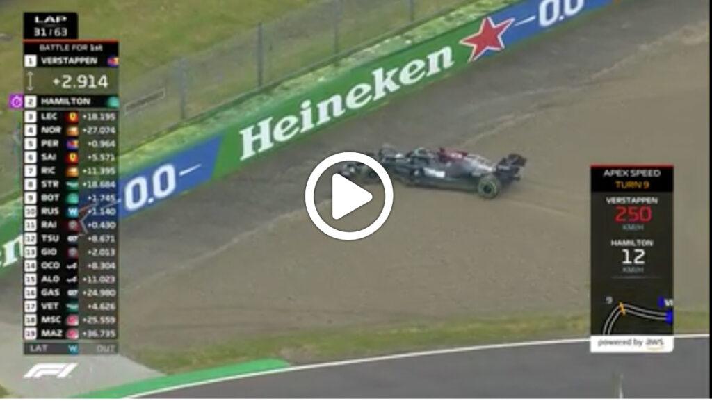 F1   GP Imola, il pesante errore di Hamilton alla Tosa [VIDEO]