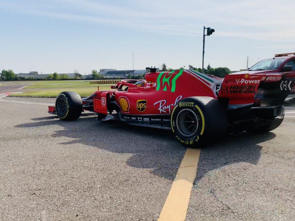 F1 | Sainz, giornata di test a Fiorano con la SF71-H