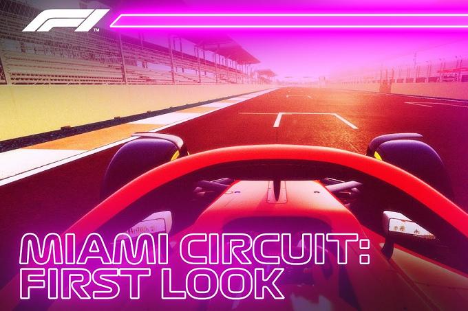 F1 | GP Miami: un giro virtuale sul nuovo tracciato