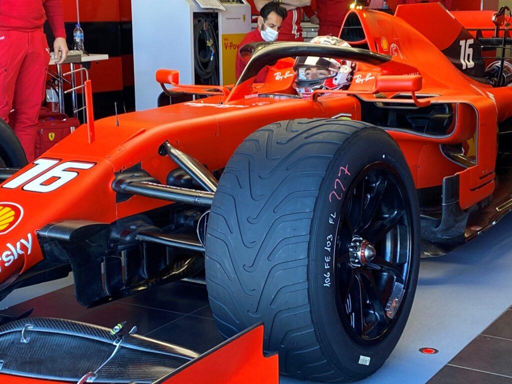 F1   Test Pirelli, Leclerc completa 141 giri al Paul Ricard