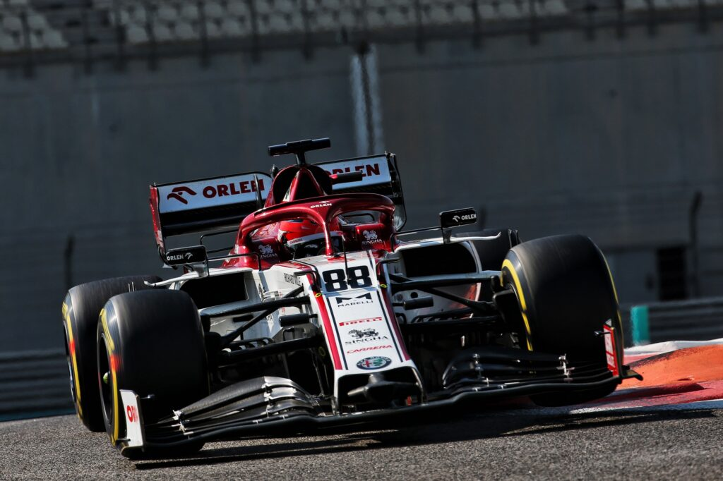 F1 | Alfa Romeo, Kubica in pista con la C41 a Barcellona